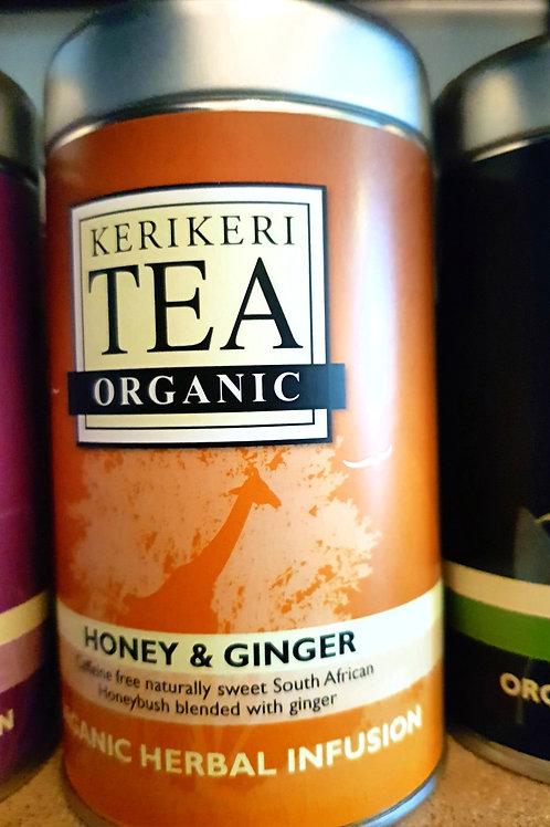 Keri Keri Organic Tea: Honey & Ginger