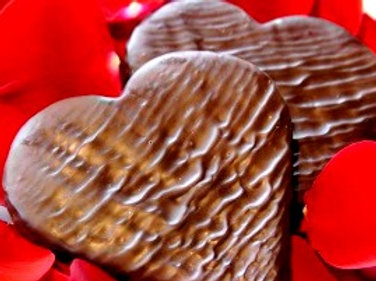 Salted Caramel Heart by She Chocolate
