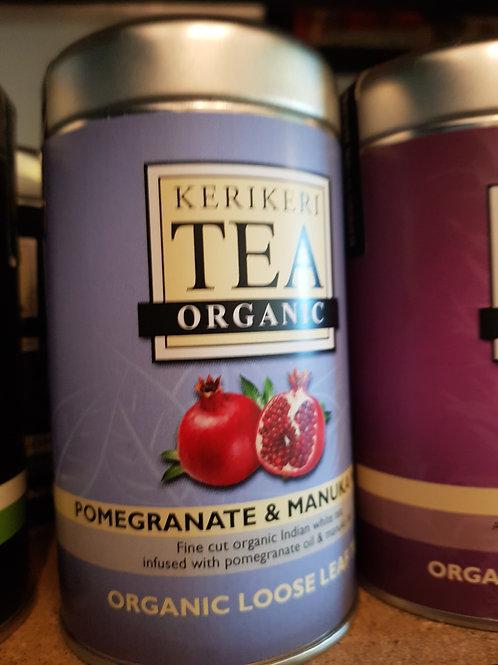 Keri Keri Organic Tea: Pomegranate & Manuka