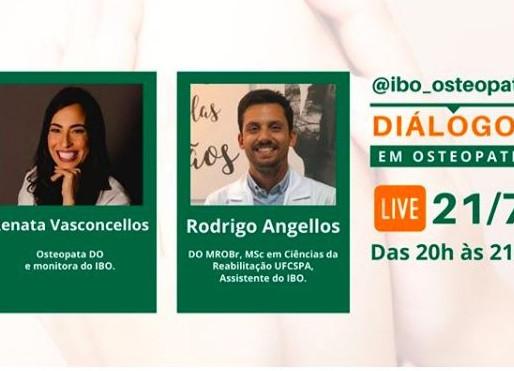 Renata Vasconcellos participa de série ao vivo do IBO