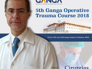Diretor do COI ensina técnicas cirúrgicas na Índia