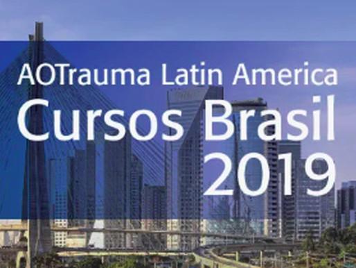 Cursos AOTrauma Brasil 2019: janeiro e fevereiro