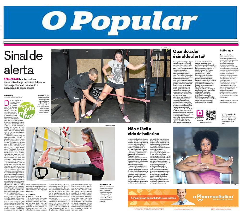 Jornal O Popular - 17/09/2017