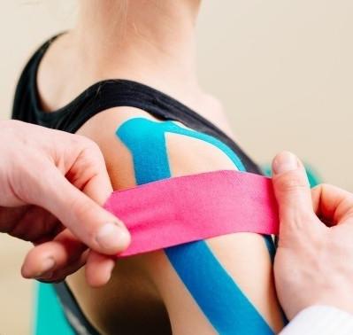 Bandagem elástica funcional: Kinésio Taping