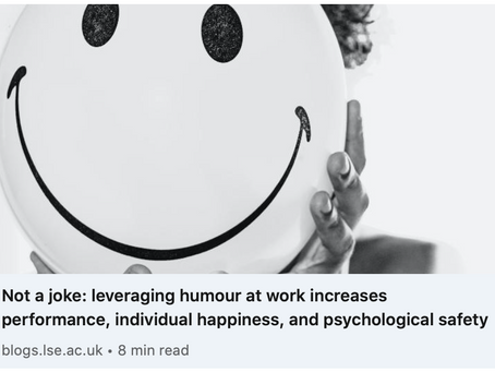 Is Humour the Missing Link in Your Workplace?