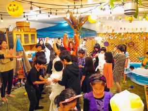 ハロウィンでのミイラゲーム&お菓子食い競争⭐︎