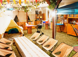 キャンピングテントcafe
