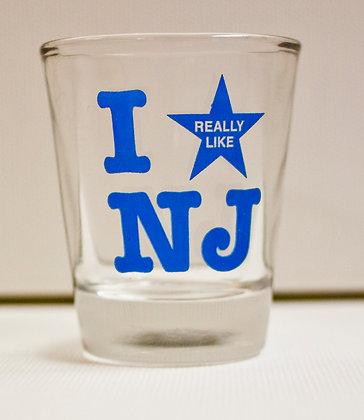 """""""I Really Like NJ"""" Shot Glass"""