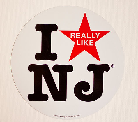 I Really Like NJ Car Magnet
