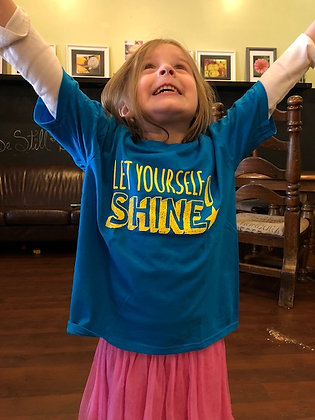 Let Yourself Shine! Youth Tee Shirt
