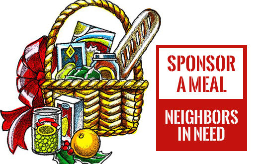 Sponsor an Entire Holiday Meal