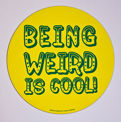 Being Weird is Cool! Car Magnet