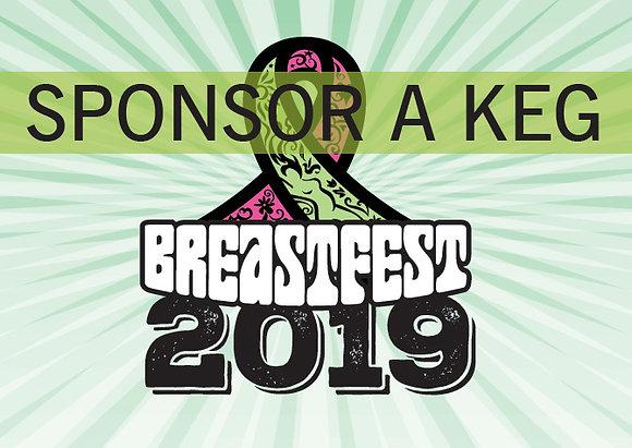 Breastfest 2019 Sponsor a Keg