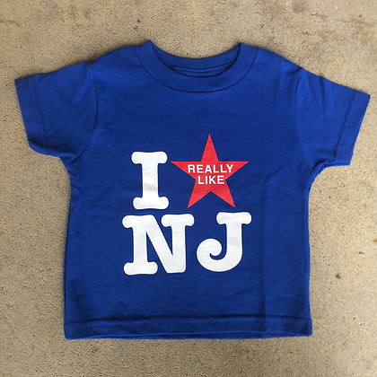 I Really Like NJ Young Ladies Tee Shirt