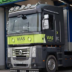 Logistische Angebote der VIAS Sozialwerkstatt