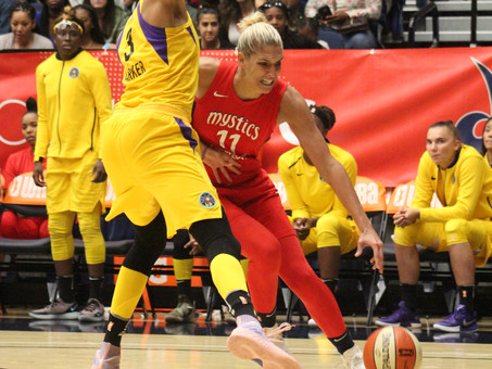 MYSTICS ADVANCE TO SEMIFINALS WITH ROUT OF THE SPARKS