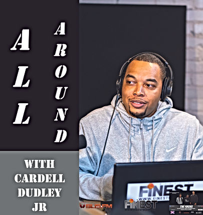 All Around With Cardell Dudley Jr Flyer.