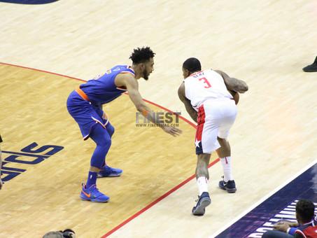 Washington's struggles continue, lose late to Burke led Knicks