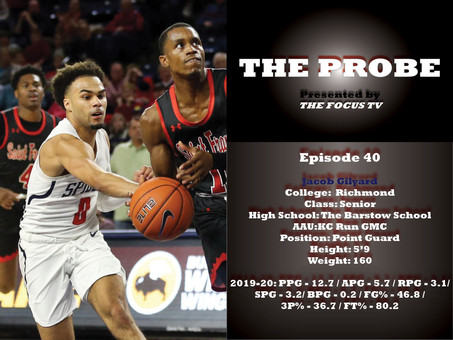 The Probe Ep. 40 - Richmond Point Guard Jacob Gilyard