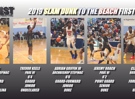 2019 Slam Dunk to the Beach Teams