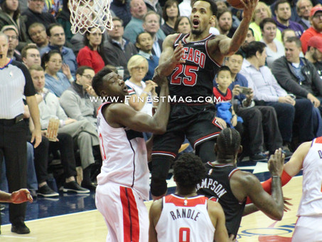 Lemon's late free throws give Bulls the edge over Wizards