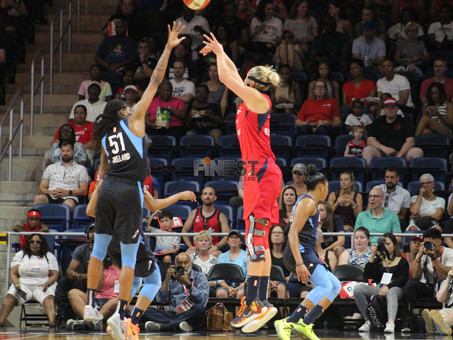 Delle Donne scores 28 as Mystics sweep season series with Dream