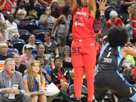 MYSTICS OPEN THEIR NEW HOME WITH A WIN OVER THE DREAM