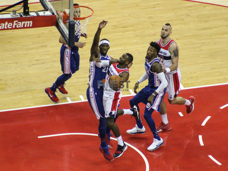 Wizards top Sixers in exciting season opener
