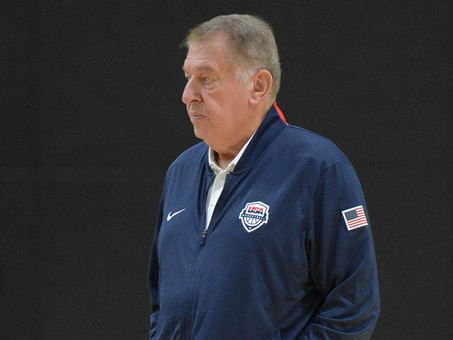 U.S. Olympic Men's Basketball Team Announcement - Jerry Colangelo