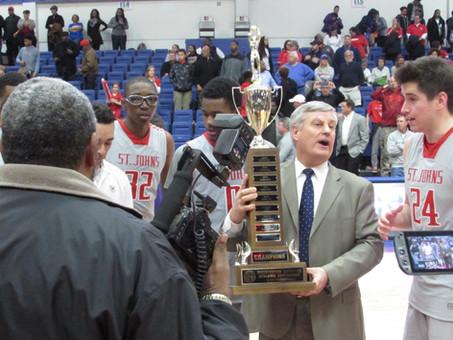 St John's Capture The 2016 WCAC Boy's Basketball Championship