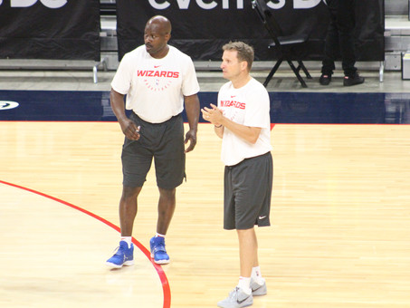 Washington Wizards Training Camp Day One