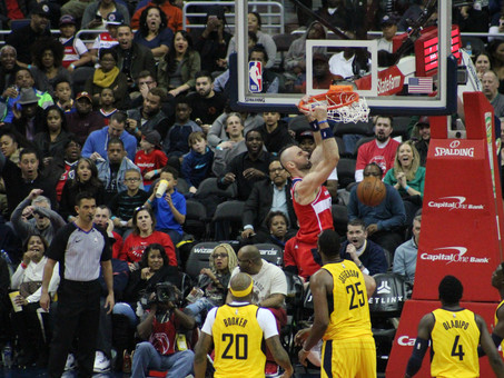 Wizards take season series with win over Pacers