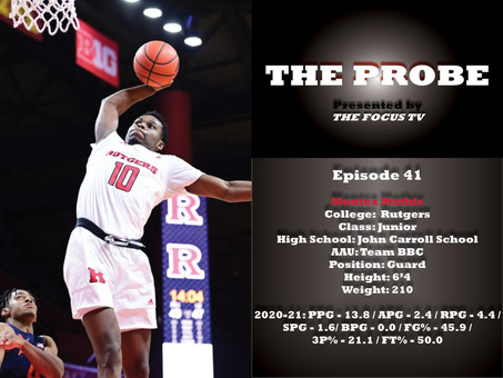 The Probe Ep. 41 - Montez Mathis
