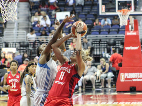 As the Lynx head back to Finals, Mystics encouraged about future