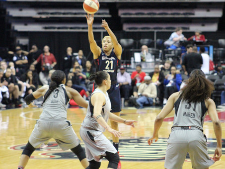 Hawkins, Atkins combine for 32 as Mystics rally to beat Aces