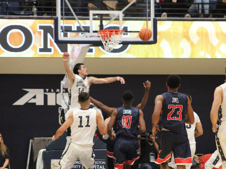 Watanabe's near triple double guides the Colonials pass the Bison