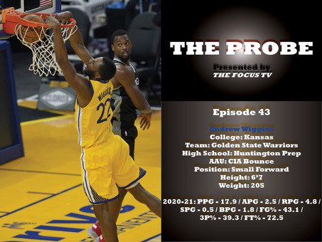 The Probe Ep. 43 - Andrew Wiggins