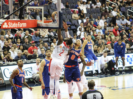 Wall makes his debut, Wizards top Knicks