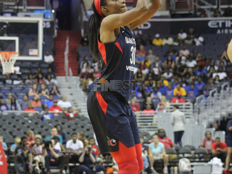 Mystics lead wire to wire in 100-77 win over Seattle