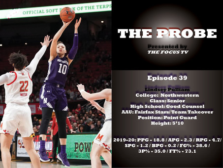 The Probe Ep. 39 - Northwestern Guard Lindsey Pulliam