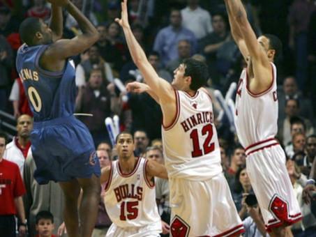 Remember Them Days - Gilbert Arenas Game Winner Deflates Chicago