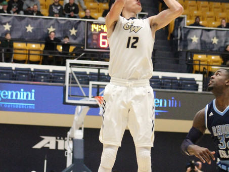 Colonials Fall to Dominant Rams 81-60