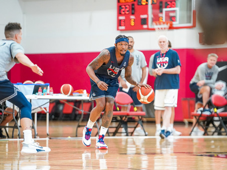 USA Men's National Team Practice: Day Two