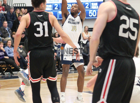 Maceo Jack Career Night Elevates GW Over Davidson In  Quadruple OT