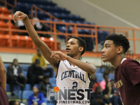 Central Routs New Town; Improves To 10-0