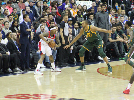 Wizards end home stand with loss to Utah