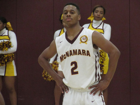 Moultrie's 25 Points Leads Bishop McNamara Over Paul VI 65-56