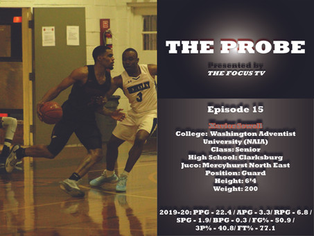 The Probe Ep. 15 - Xavier Sewell