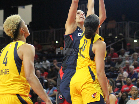 Mystics set WNBA record for threes in win over Fever