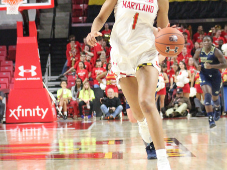 Defense set the tone for Maryland as they run past George Washington